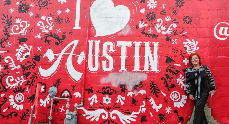 Mural I Love Austin