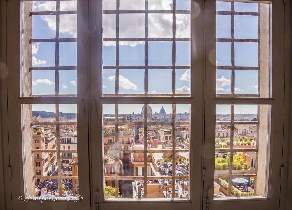 View from Santa Trinità dei Monti